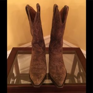 Dan Post Brown Cowgirl Boots
